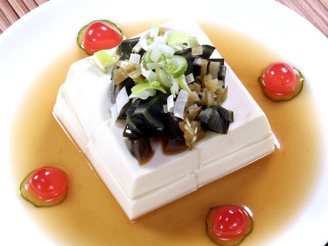 (上海)ピータン豆腐