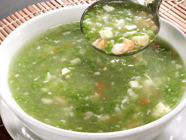 (広東)野菜つぶ入り海鮮とろみスープ