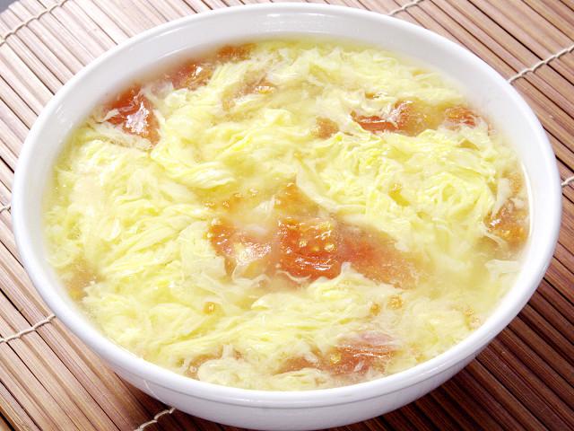 (北京)トマトと玉子のスープ